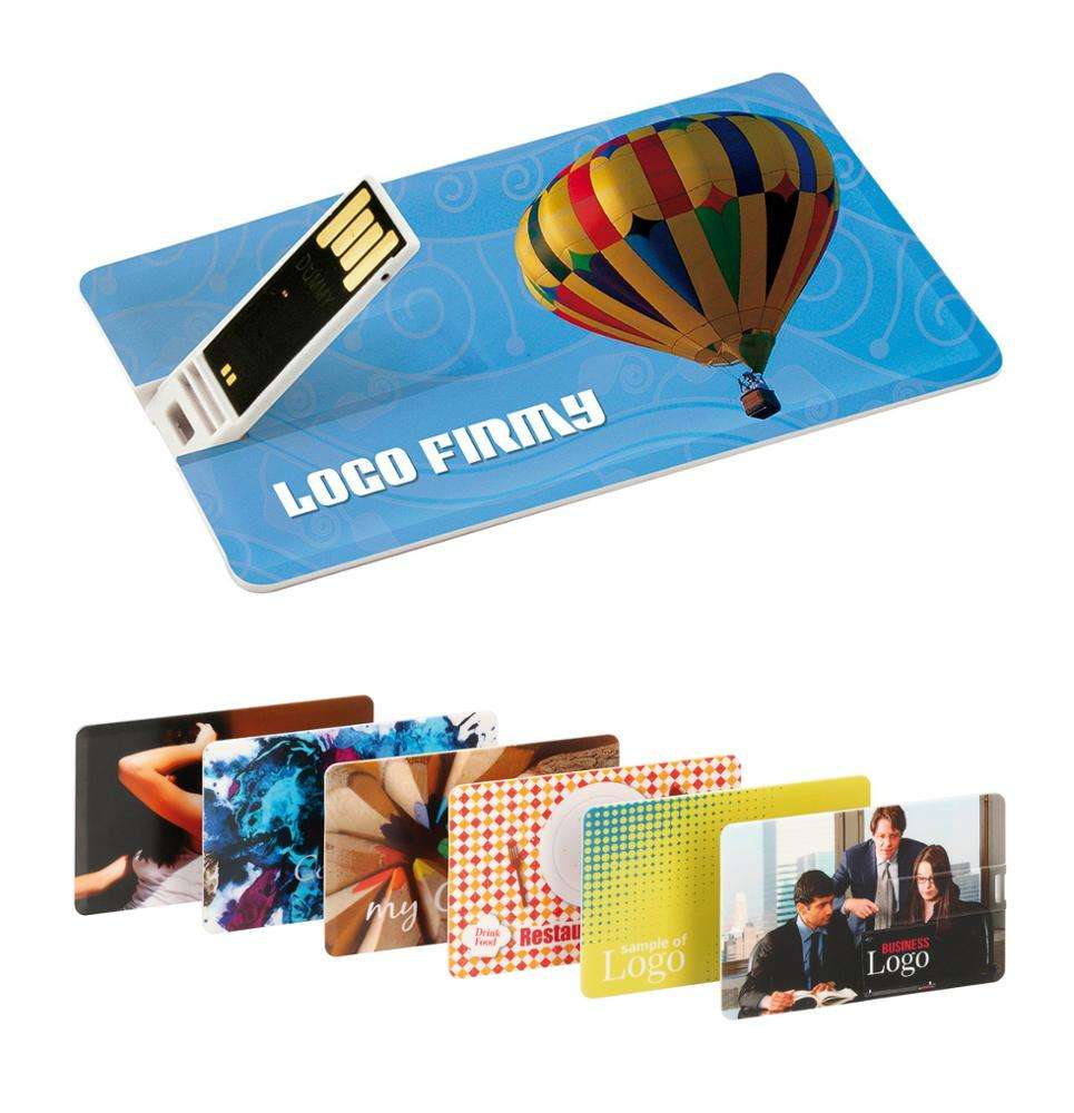 Wholesale Promotional Slim Business Credit Card Usb Flash Drive 512mb 1gb Print Your Photo Card Usb Stick 128mb 8gb 16gb 32gb