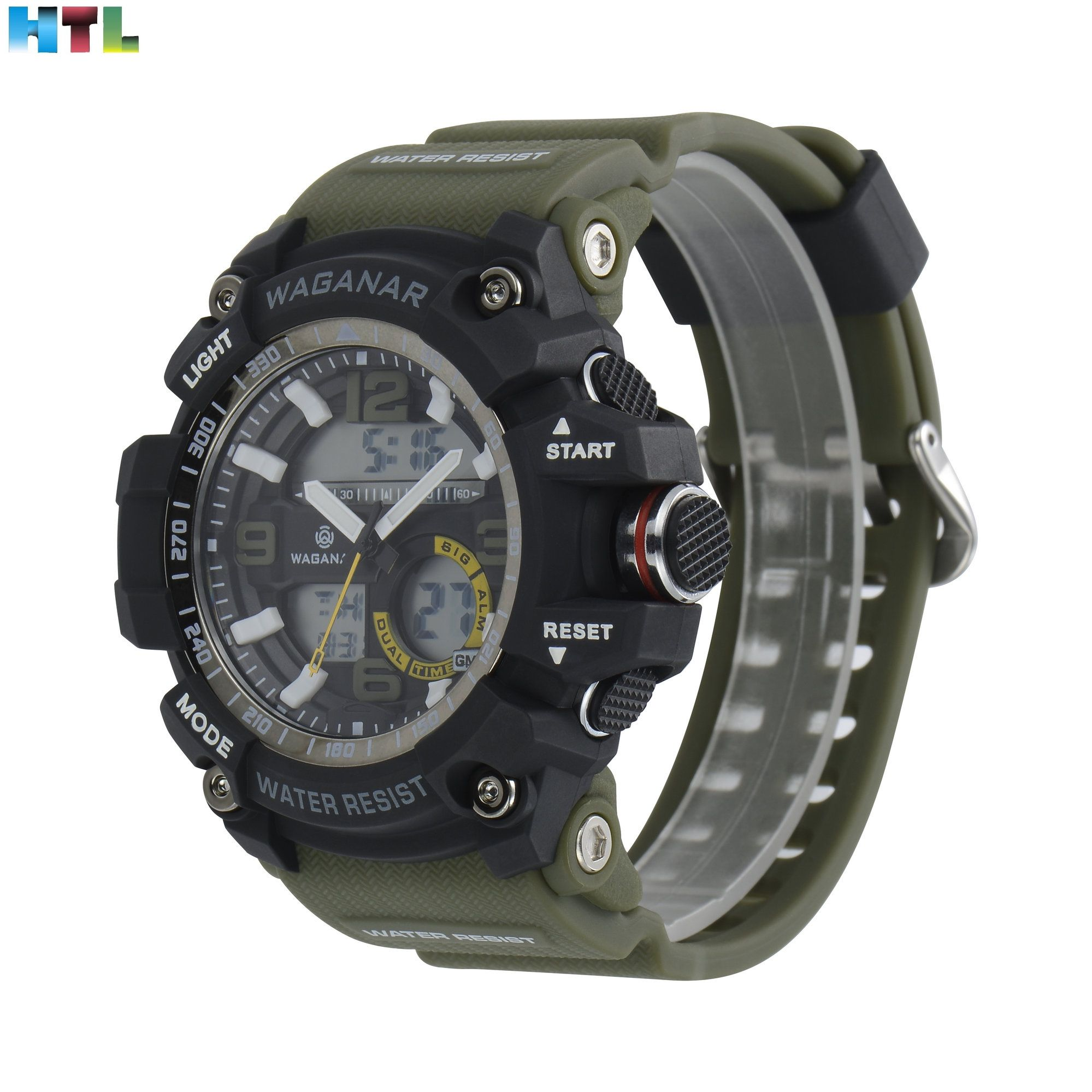Led Clock Waterproof Sport Men Military Quartz Clock Anniversary Gift Comfortable Perfect Wrist New Bracelet Reloj Sport Watch