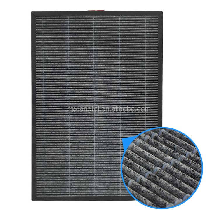 FOSHAN supplier H11 H12 H13 low resistance hepa air filter combine with carbon for air purifier machine with good factory price
