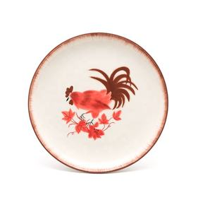 Animal chicken Creative Design special dinnerware table sets ceramic plates set for restaurants