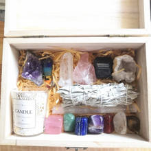 wholesale Crystals Healing Stones In Display Box 7 Tumbled Chakra Gemstones