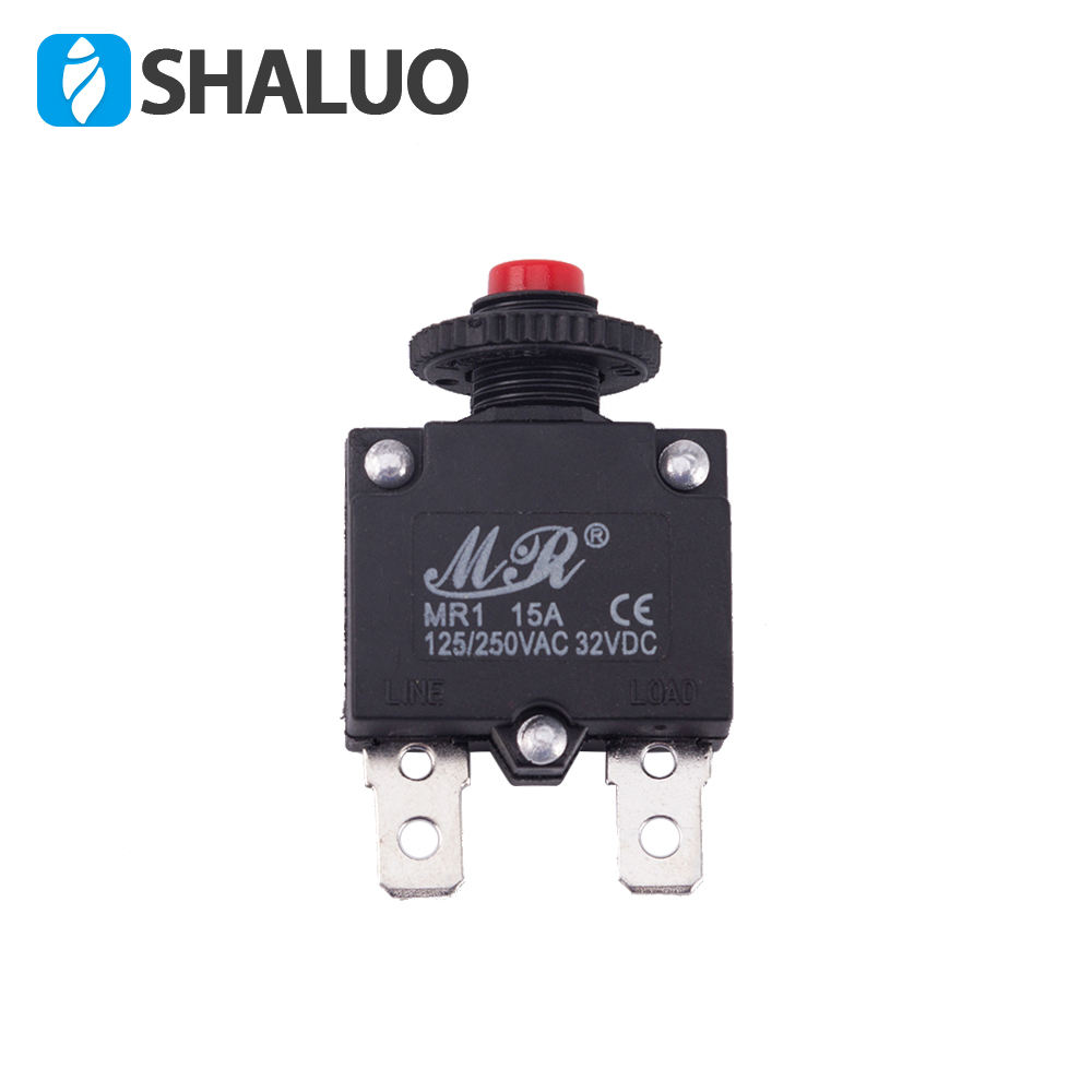 5A 8A 15A 20A 25A 30A MR1 Overload Protection SWITCH over current Protector current limiter