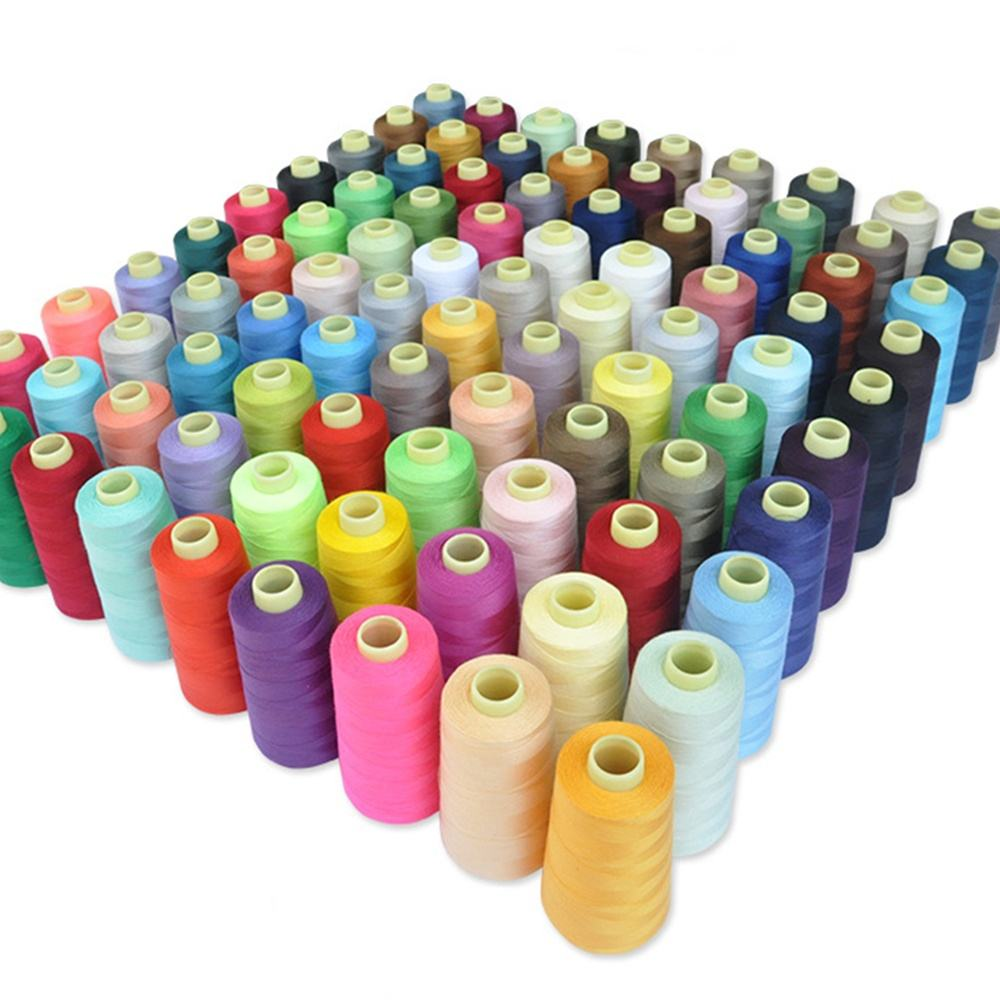 Polyester sewing thread 3000y 402 sewing thread various color