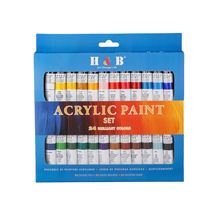 24color wholesale artist acrylic paint colours set