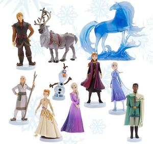 10 Stks/set Elsa Anna Frozen Prinses Olaf Pvc Action Figure Model Toy Collection Groothandel
