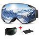Wholesale Ski Goggles, Detachable Lens Anti-Fog And Anti-Ultraviolet, Can Custom Ski Goggles Color Logo,Ski Glasses Etc.