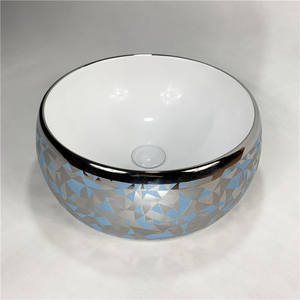 Good Selling Modern Round Bowl Above Sink Luxury Hand Wash Basin For Bathroom