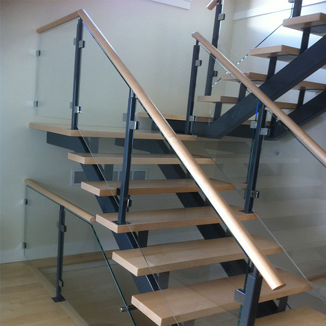 Popular glass railing stainless steel post
