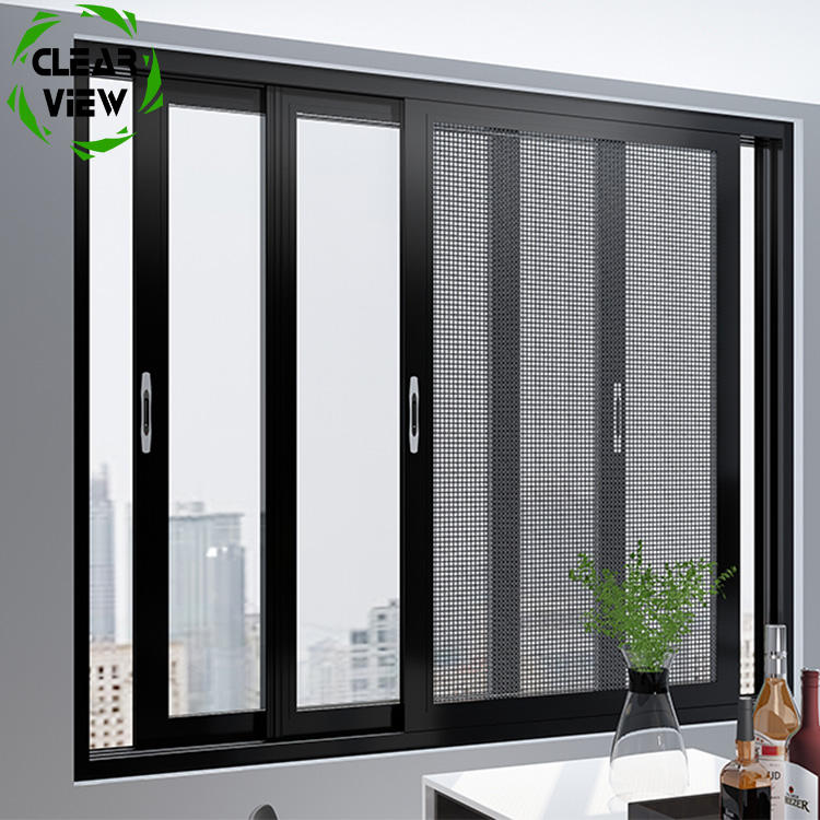 Clearview Furnishing used aluminum windows vertical sliding windows