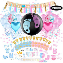 Nicro New Product Party Decoration Baby Shower Boy or Girl Gender Reveal Party Supplies Kit