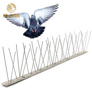Stainless Steel Bird Spikes for Pigeons and Other Small Birds Contains no Plastic