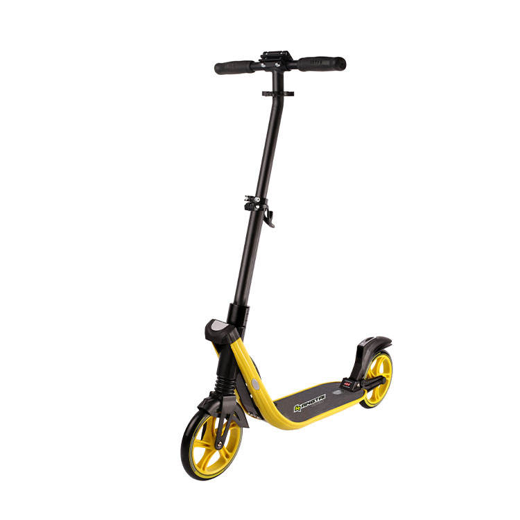 200mm quick foldable 2 wheels kick scooter adult scooter
