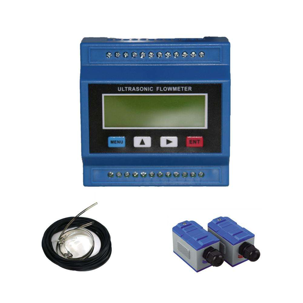 Modular Flow Meter Ultrasonic Transit Time Salinity Water Wastewater