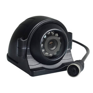 Security Car Ip68 Pal 960H Black Metal Shell Waterproof Vehicle Security Camera For Car Bus