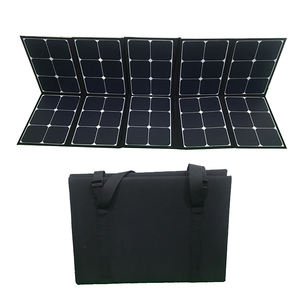 Foldable 200w sunpower solar panel for travel