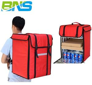 OEM logo drink rider big fast thermos lunch courier cooler waterproof hot pizza insulated thermal bag food delivery backpack