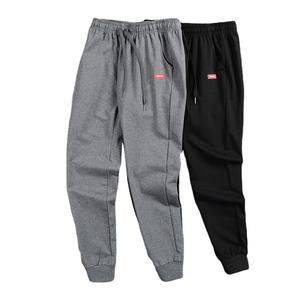 Factory wholesale fashion men sports track pants autumn custom drawstring pocket jogger sweatpants