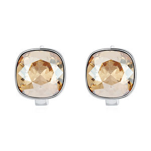 ANKA Square Crystal from Austrian Jewelry Multiple Colors Crystal High Quality Girl Copper Earring E138260