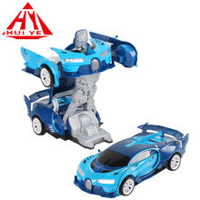 Shantou Chenghai automatic deformation  battery operated  transform toy robot car