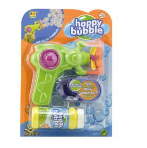 Automatic Electric Bath Soap Bubble Water Solution Gun Blowing Toys for Kids