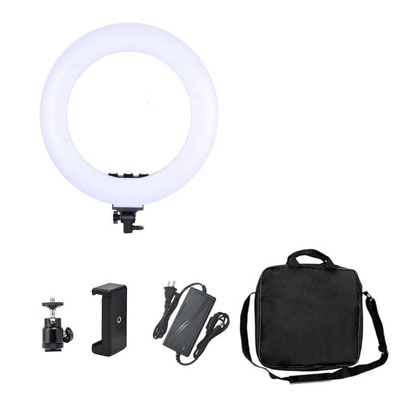 Amazon top seller 18 Inch LED Ring Light Photography Studio beauty Light with display