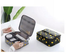 New Trend Design  Print Cosmetic bag, Custom Logo Printed Make up Bag Wholesale Travel Mens Toiletry Bag