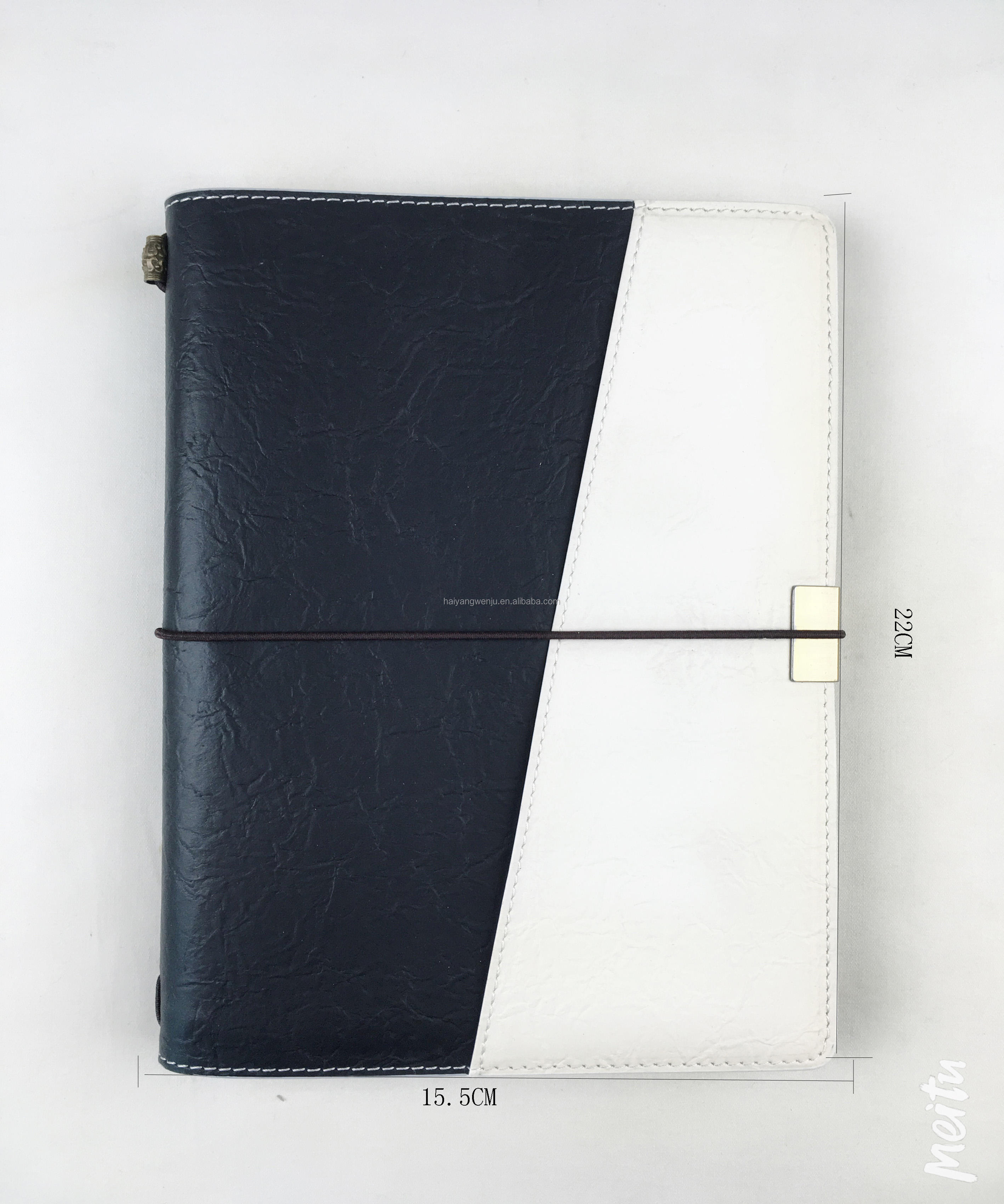 Multifunctional customizable notebook pu leather account book