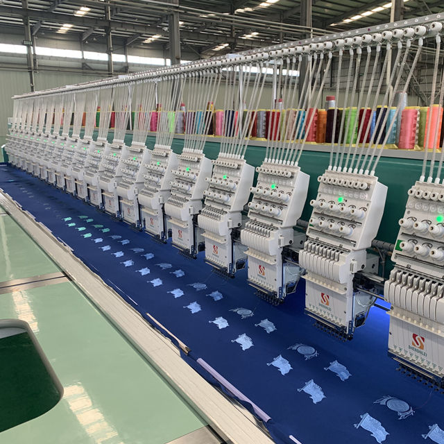 SHENSHILEI All Types Flat and mix Embroidery Machine china top quality manufacturer