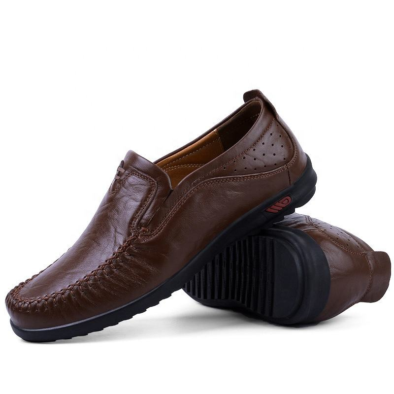 Top fashion high quality men's leather shoes from Chinese factories