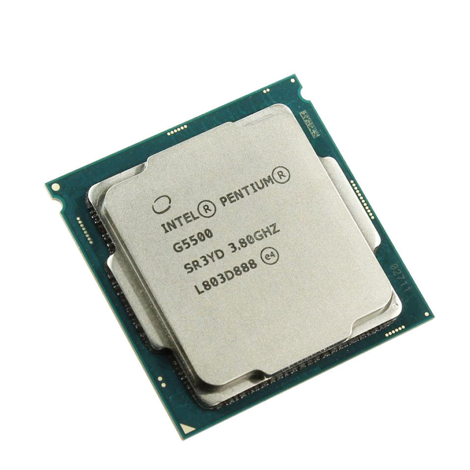 Good Condition Stock 2 Core Intel Pentium G5500 CPU For Desktop Pentium CPU LGA 1151