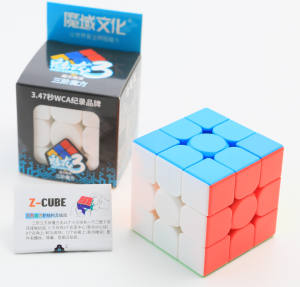 Mofangjiaoshi Meilong moyu 3x3x3 magic cube stickerless 3x3 speed cubes toys for kids education
