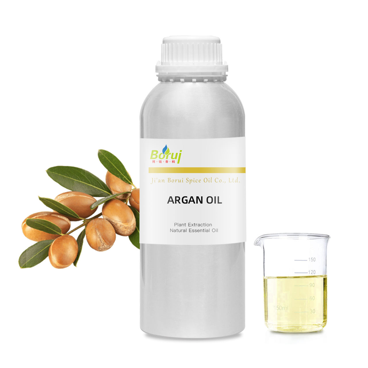 Factory Wholesale bulk price private label 100% pure and natural organic moroccan Morocco argan oil for hair care
