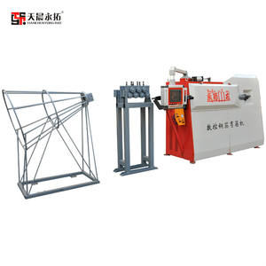 Wire Bending Machine Small Automatic Cnc Manual Supplier Automatic Cnc Steel Bar Hoop Machine