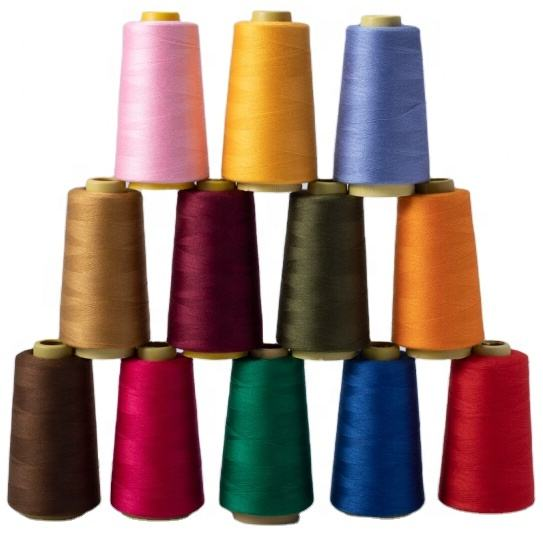 ST106 wholesale sewing supplies 100% spun 40 2 8000Y polyester sewing thread