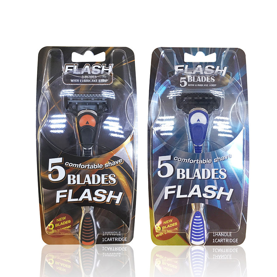Online Shave Club Best Quality Razor Shaving Blades of 5 Blades with One Trimmer for Mens Shaving