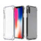 antishock mobile phone cover soft tpu transparent shock proof case for iphone xr xs max 11pro max
