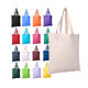 Custom Printed Plain Cotton Canvas Grocery Shopping Tote Bag