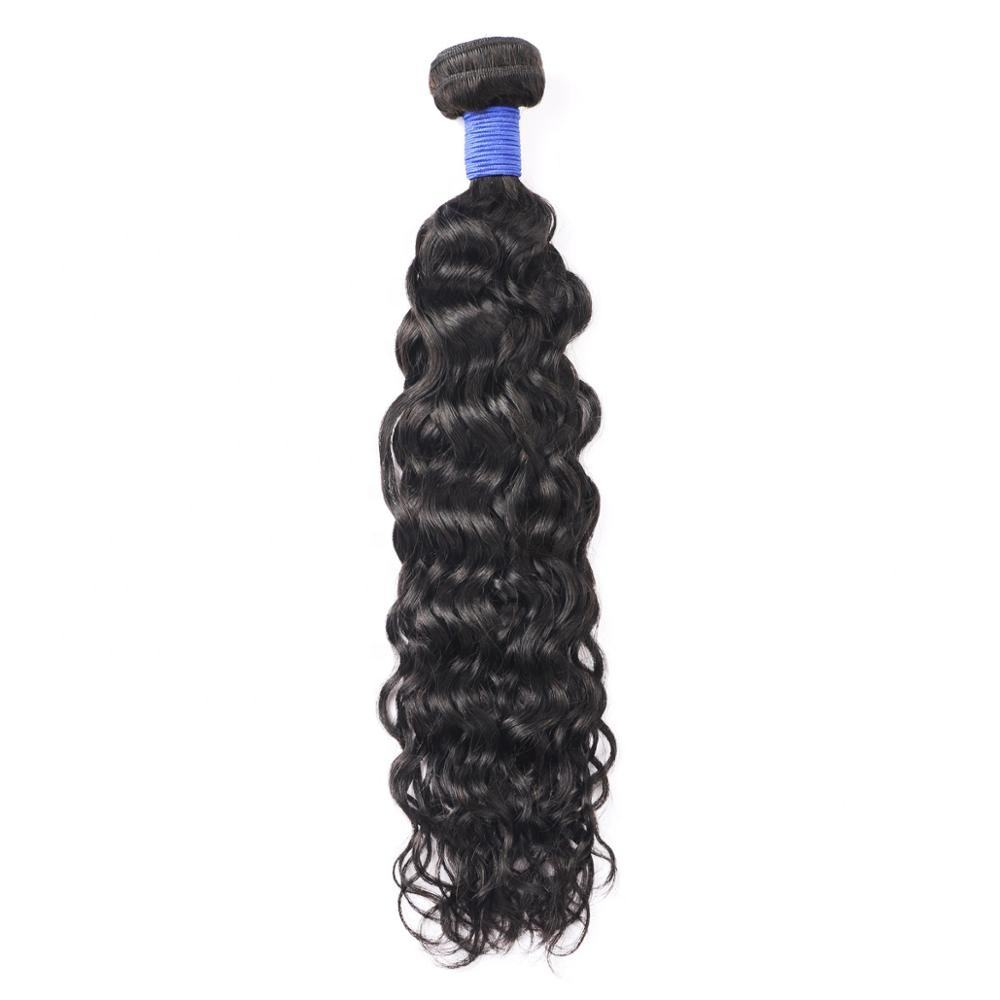 Hot Selling Virgin Hair Factory Prijs Snelle Levering Raw Virgin Water wave haar bundels met Sluiting