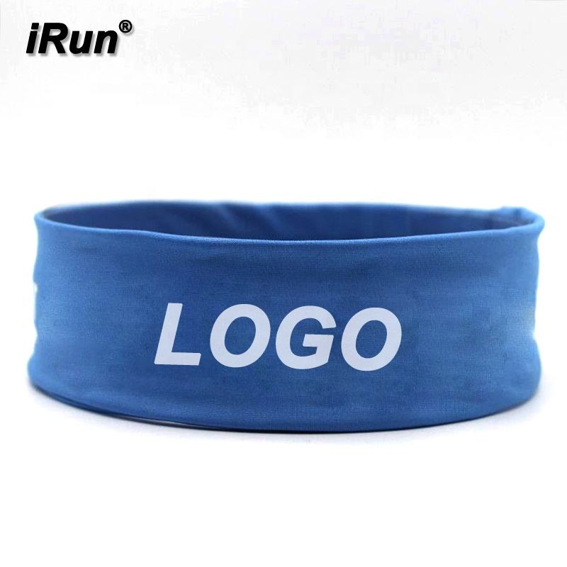 IRun Moda Azul Estiramento Hairband-Gym Yoga Sweatband para Ladies & Girls - 69% nylon, 17% poliéster, 14% <span class=keywords><strong>Lycra</strong></span> - 7 Cores