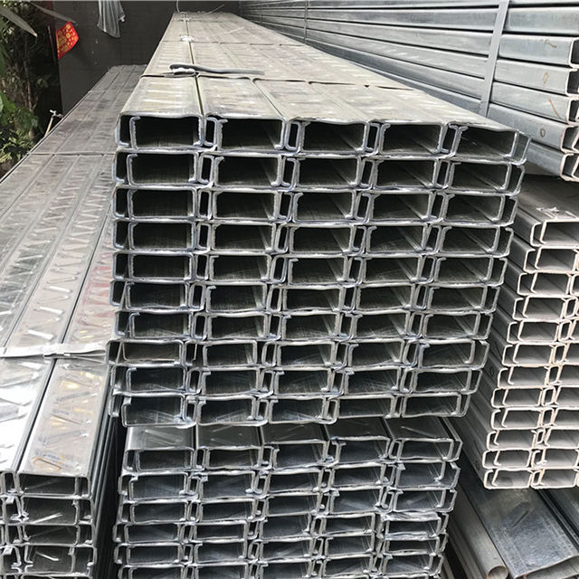 channel steel C channel steel with low price building material structure profile profiles cold formed