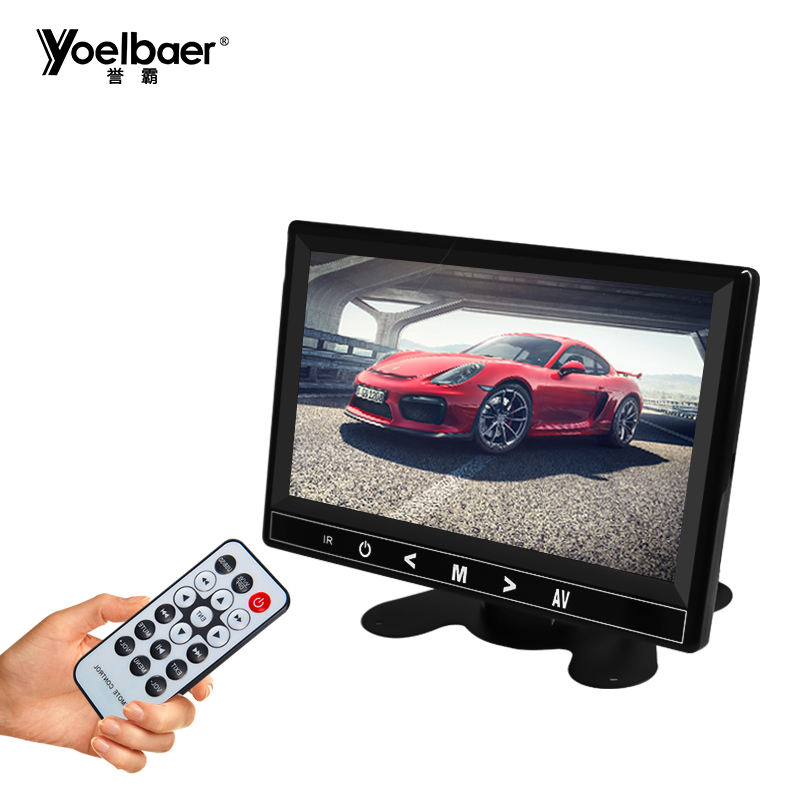Touch Screen Car Rearview Mirror Monitor MP5 TV Display 7 Inches TFT LCD Color Monitor