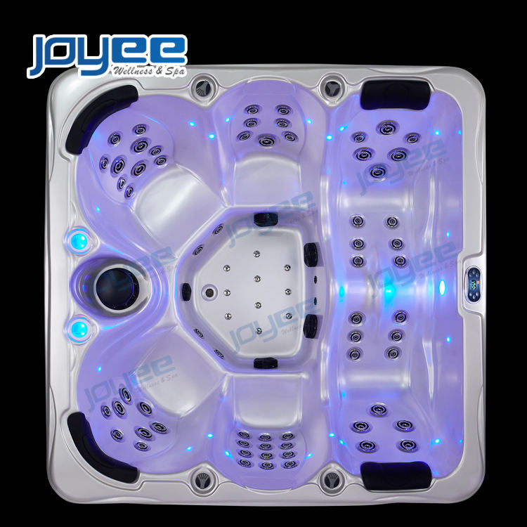 JOYEE Fast Delivery hot tub cheap price backyard modern spa bath massage tub jetted whirlpool outdoor hot tub for 4 6