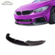 Bmw 4 MP Style Carbon Fiber Front Lip Splitter For BMW 4 Series F32 F33 F36