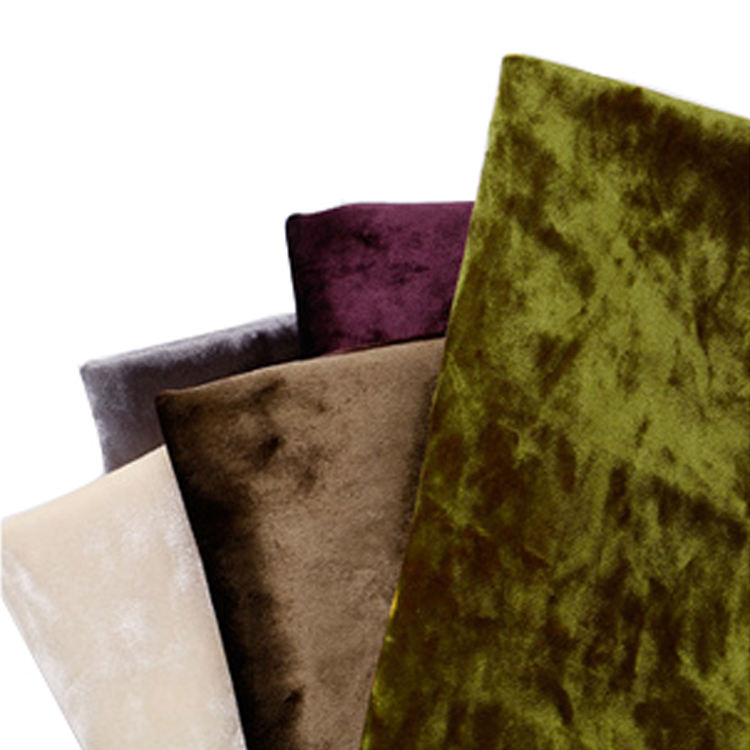 Wholesale ice plush velvet soft sofa fabric velvet upholstery fabrics polyester for sofa