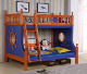 Bed Queen Latest Smart Modern Design Twin Size Loft Kids Wooden Bunk Bed For Boys Full Size Bed Queen Size Captains Bed 8629