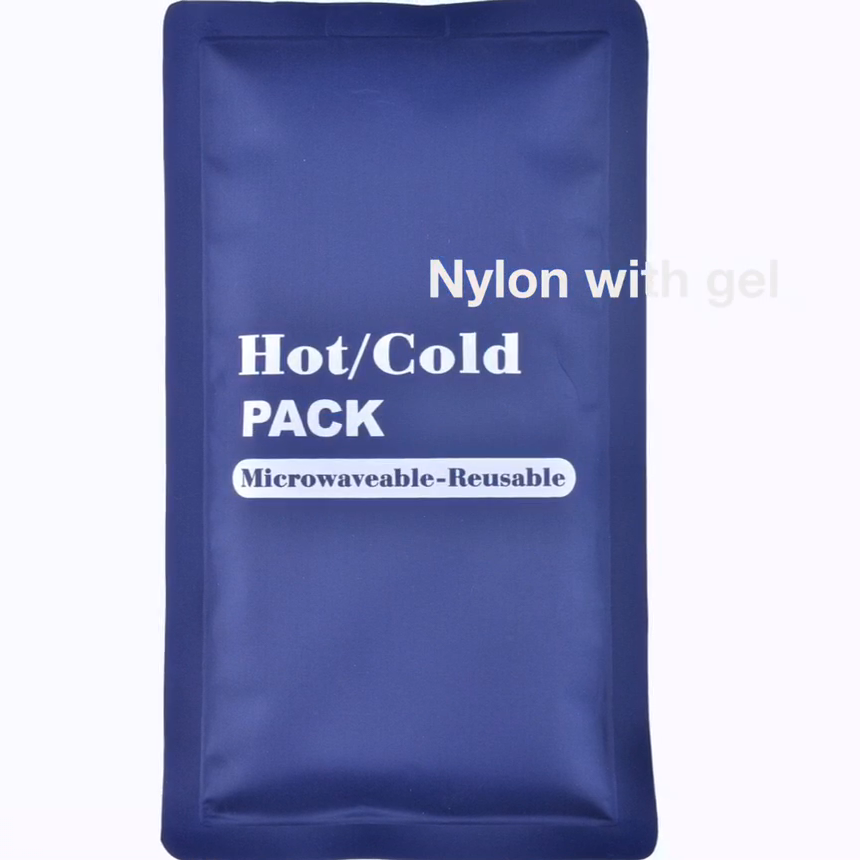 Washable Reusable Gel Cold Hot Compress for Therapy Microwavable Cold & Warm Compress Therapy