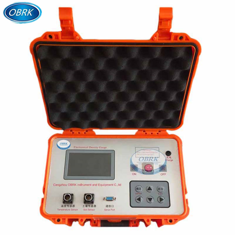 Venda quente EDG densidade medidor elétrico medidor de densidade do solo não-nuclear por Glomro