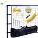 Volleyball Net Volleyball Net Set YumuQ Outdoor Backyard Volleyball Combo Kit Set With Portable Volleyball Net System