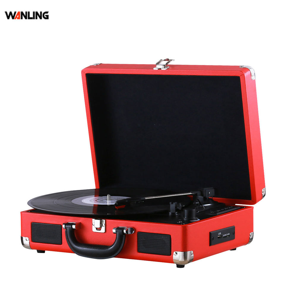 Vinyl USB Record Function Turntable Modern Gramophone for Sale