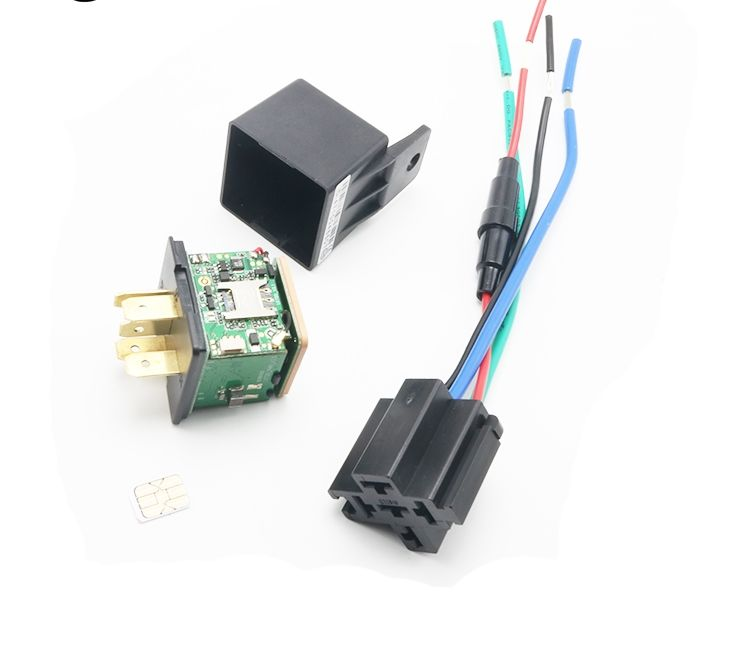 GPS GSM Tracker LK720 for Vehicle Cut off oil power System and GPRS timing report